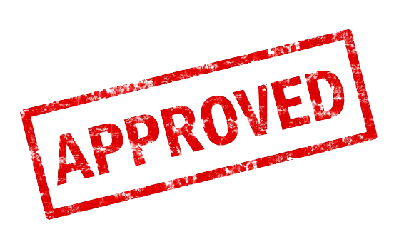 approved building permit