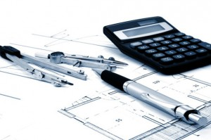 architectur plans of residential and commercial real estate